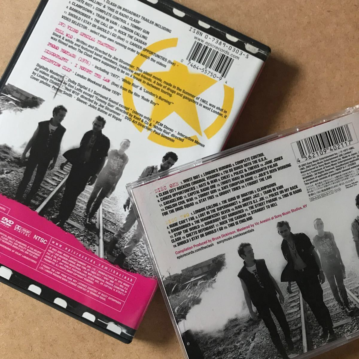 ◆THE Essential Clash ザクラッシュ /1DVD 輸入盤+ 2CD 国内盤 2組セット