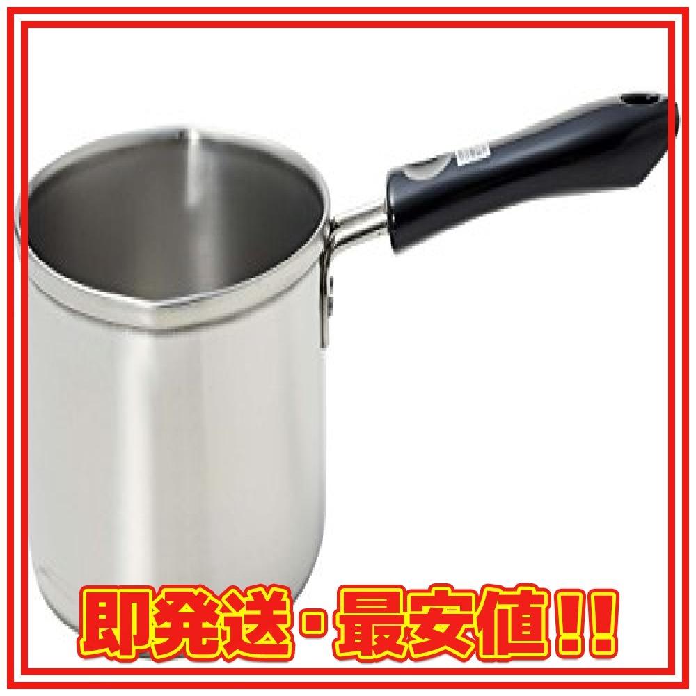 パール金属 ミルクパン 13cm IH対応 ステンレス デイズキッチン 日本製 H-5171_画像1