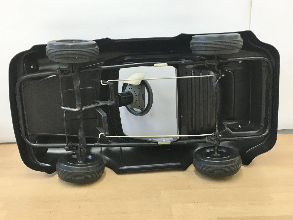 トシマ TOSHIMA ポルシェ911ターボ 乗用玩具 ブラック 使用年令2-5才 身長85-110cm ペダルカー 足漕ぎ 乗り物 車 2107LT045_画像5