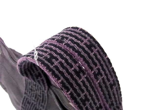 1円 ■美品■ HERMES エルメス エールラインPM キャンバス シルバー金具 ハンドバッグ トートバッグ メンズ レディース グレー系 M6479QN_画像6