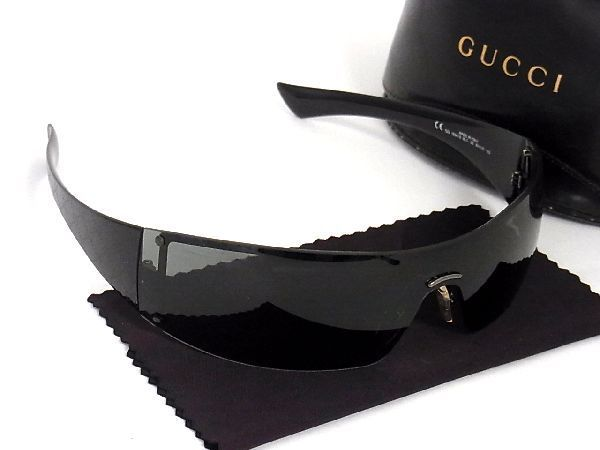 1円 ■美品■ GUCCI グッチ GG1824/S 95 99□01 GG柄 サングラス メガネ 眼鏡 メンズ ブ
