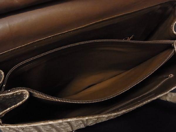 1円 ■極上■本物■美品■ アンテロープ ゴールド金具 トート ハンドバッグ 手提げかばん レディース ライトブラウン系 Q2362aN_画像9