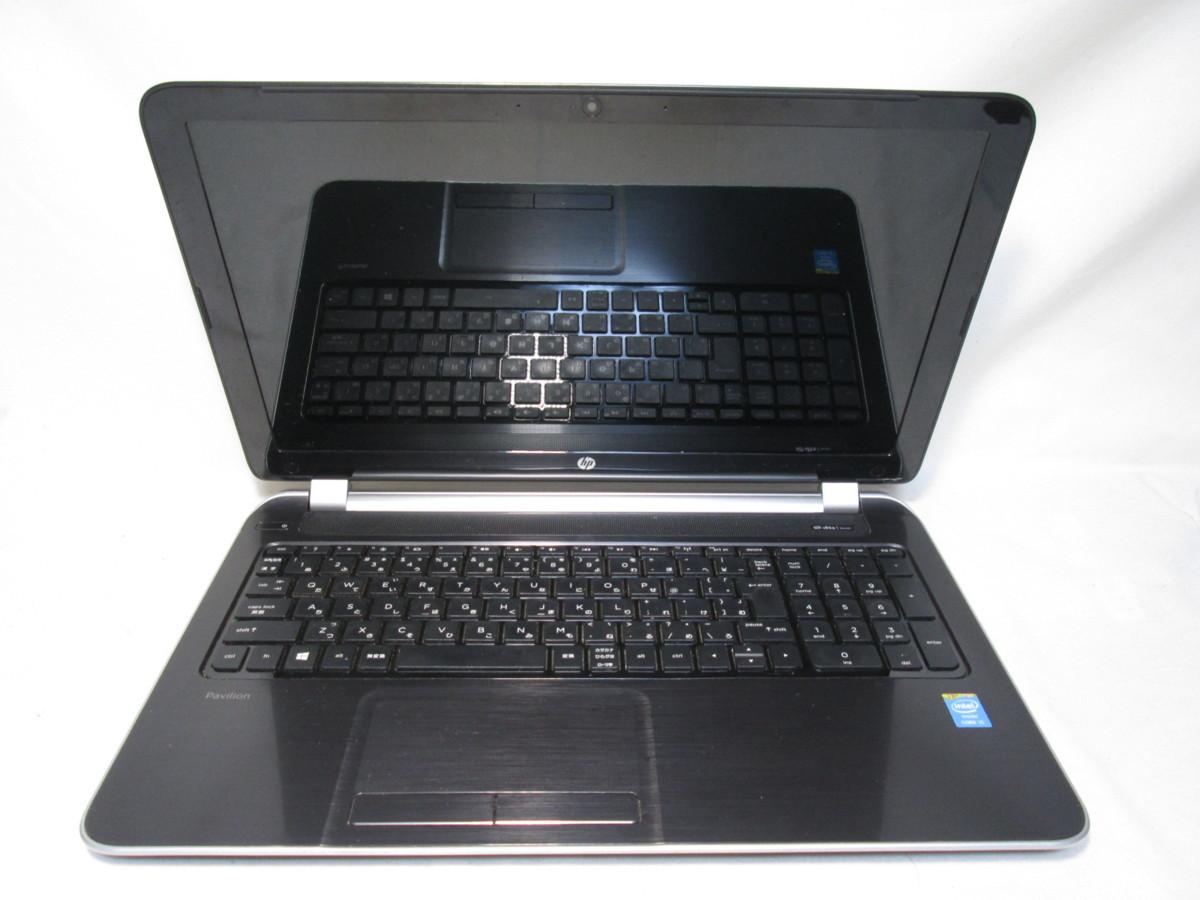 HP Pavilion 15-n210TU G0A11PA#ABJ Core i5 4200U 1.6GHz 4GB 500GB 15.6インチ DVDマルチ ジャンク [79732]_画像1