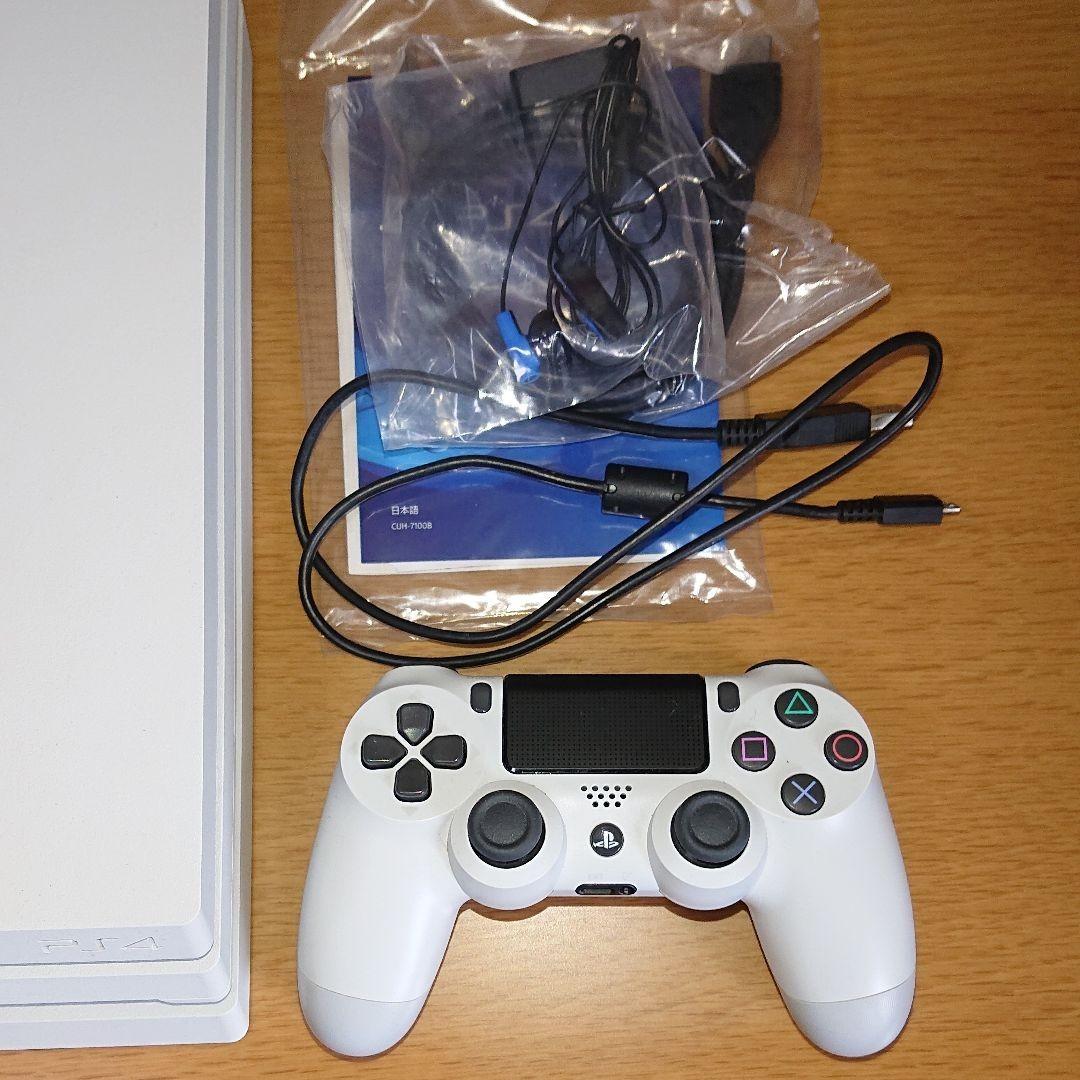 SONY PS4 Pro CUH-7100BB02 WHITE 1TB 白