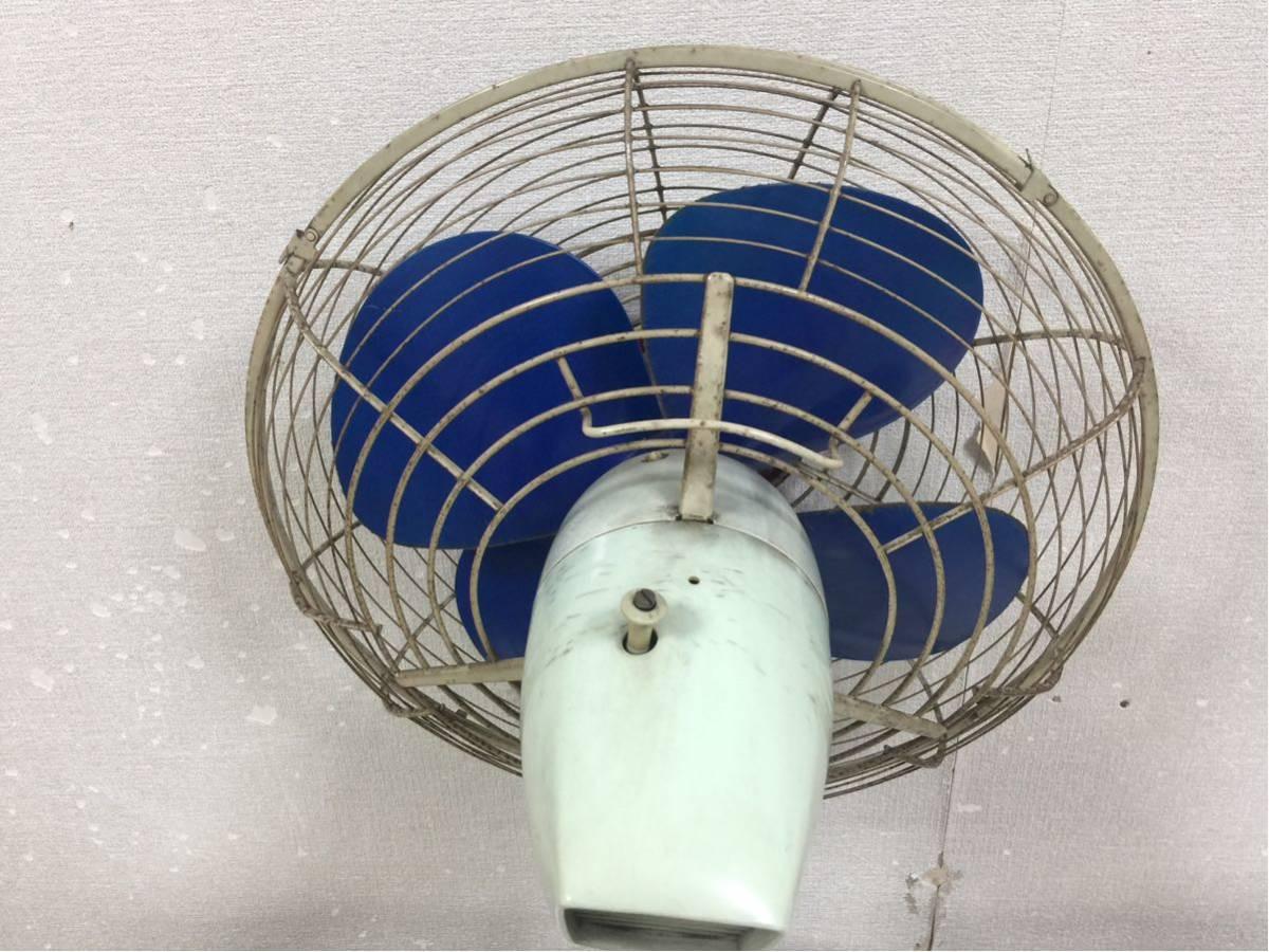 送料無料 東芝 扇風機 昭和レトロ レトロ扇風機 アンティーク ビンテージ 動作確認済み_画像4