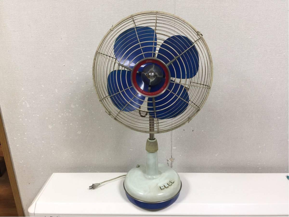 送料無料 東芝 扇風機 昭和レトロ レトロ扇風機 アンティーク ビンテージ 動作確認済み_画像9
