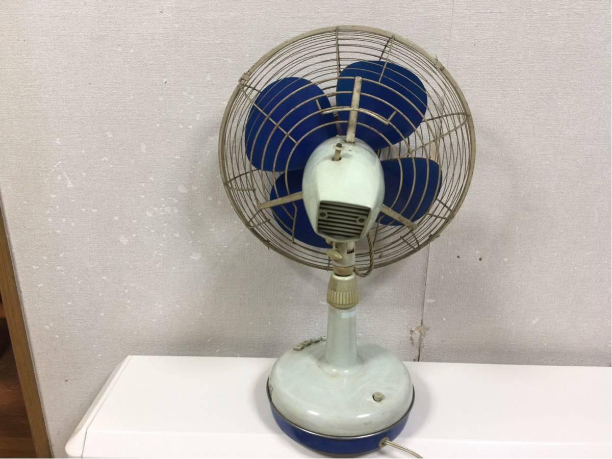 送料無料 東芝 扇風機 昭和レトロ レトロ扇風機 アンティーク ビンテージ 動作確認済み_画像3
