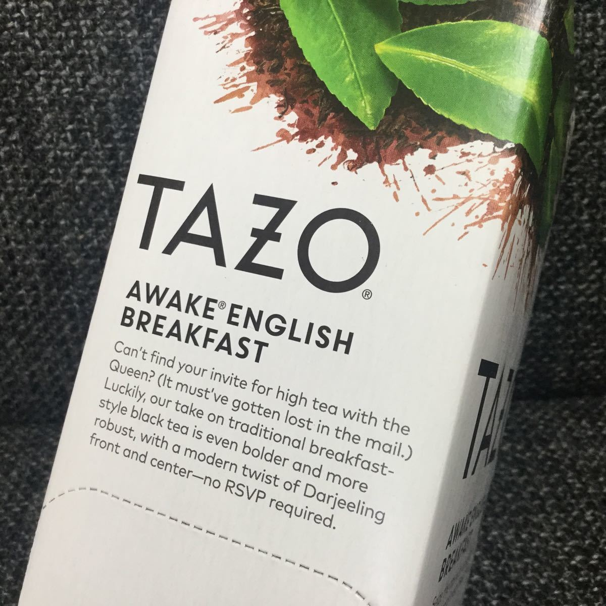 TAZO tea タゾ ティー★アウェイクイングリッシュブレックファスト★紅茶
