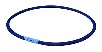 ネイビー 50cm ファイテン(phiten) ネックレス RAKUWAネック ゼネラルモデル 50cm_画像1