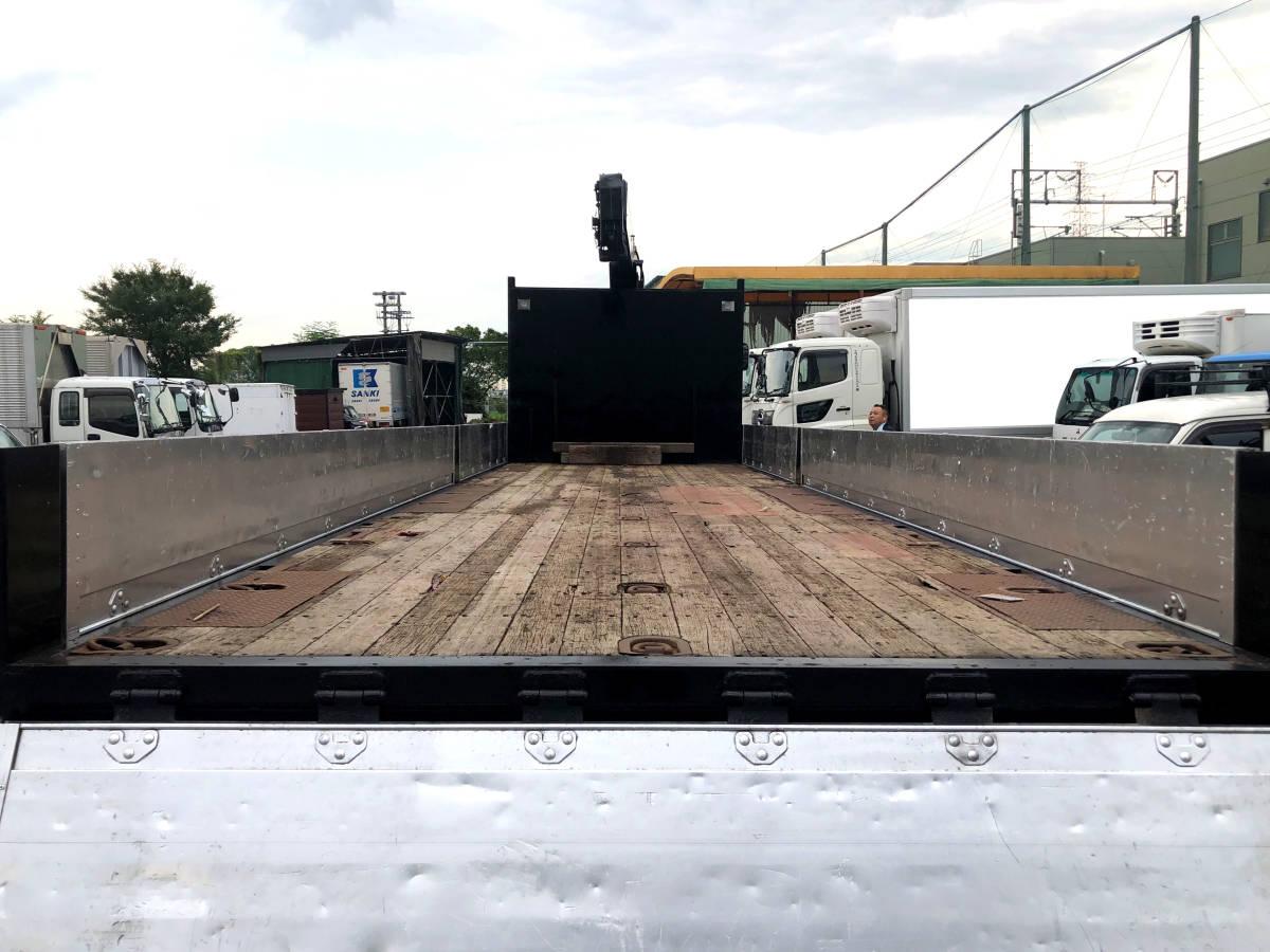 ◎平成20年 UD タダノ4段クレーン ユニック フックイン ラジコン付 ブラック塗装仕上◎_画像5