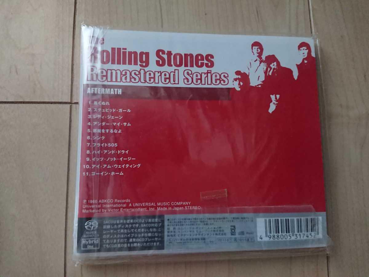★ローリング・ストーンズ The Rolling Stones ★アフターマス Aftermath ★デジパック仕様CD ★国内盤 ★帯付き ★未開封