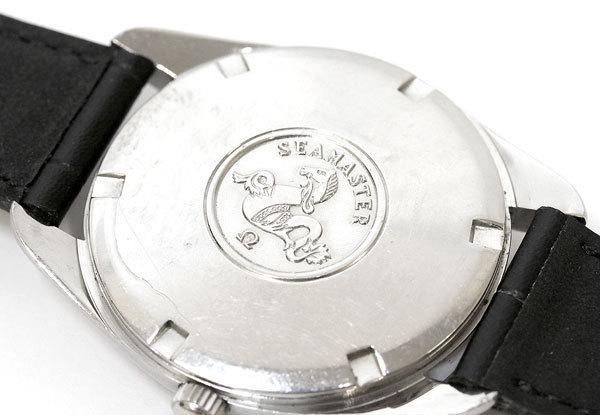 OH済!! OMEGA/オメガ シーマスター Seamaster 165.067 Cal.552 自動巻き/オートマチック ノンデイト アンティーク ヴィンテージ 腕時計_画像4