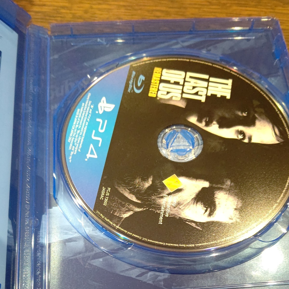 THE LAST OF US PS4 ラストオブアス