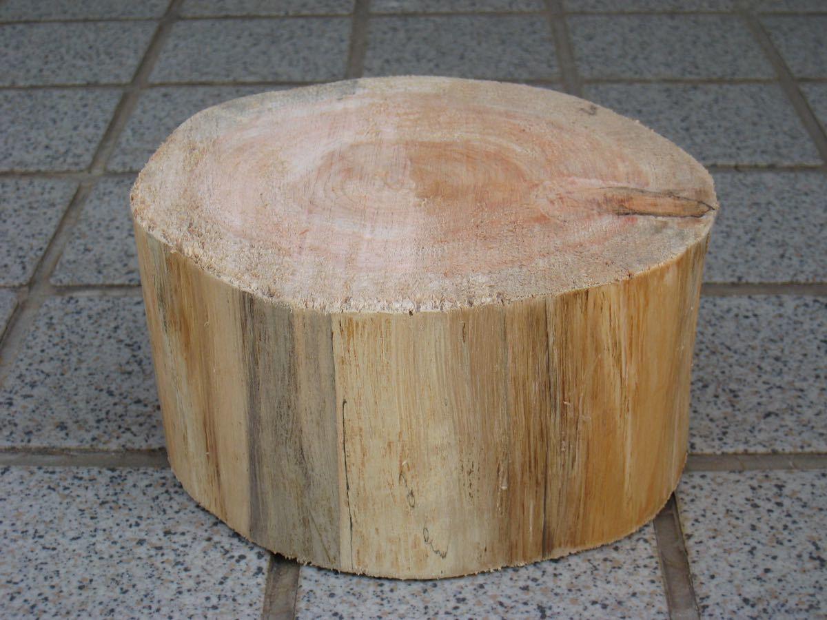 薪割り台 飾り台ひのき14×8_画像2