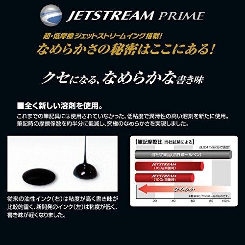 黒 0.5mm 三菱鉛筆 ボールペン替芯 ジェットストリームプライム 0.5 単色用 黒 SXR60005.24_画像5