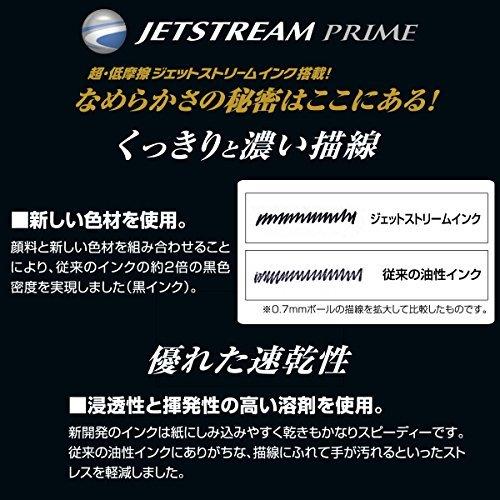 黒 0.5mm 三菱鉛筆 ボールペン替芯 ジェットストリームプライム 0.5 単色用 黒 SXR60005.24_画像6