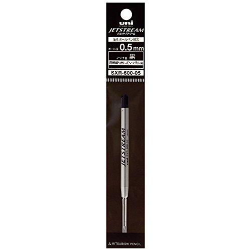 黒 0.5mm 三菱鉛筆 ボールペン替芯 ジェットストリームプライム 0.5 単色用 黒 SXR60005.24_画像2