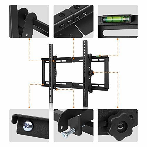 26~75インチ テレビ壁掛け金具 Simbr 26~75インチLCD LED液晶テレビ対応 強度抜群 左右移動式 上下角度調節_画像6