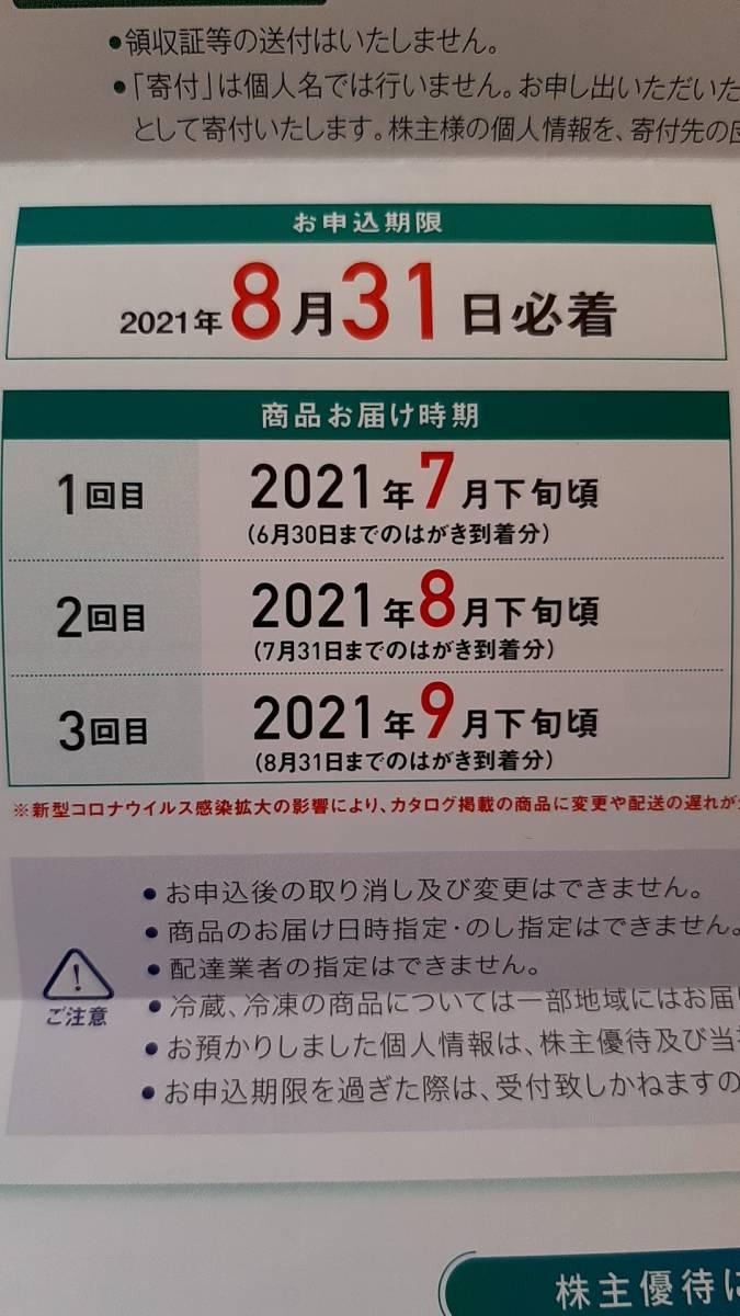 【送料込】 最新 東洋機械金属 株主優待 カタログギフト 【即決可】_画像2