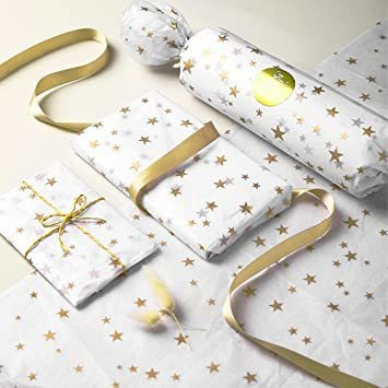 新品Idealeben ラッピングペーパー 35 * 50 cm 薄葉紙 ラッピング 包装紙 梱包 4種類 20枚入DLF8_画像7