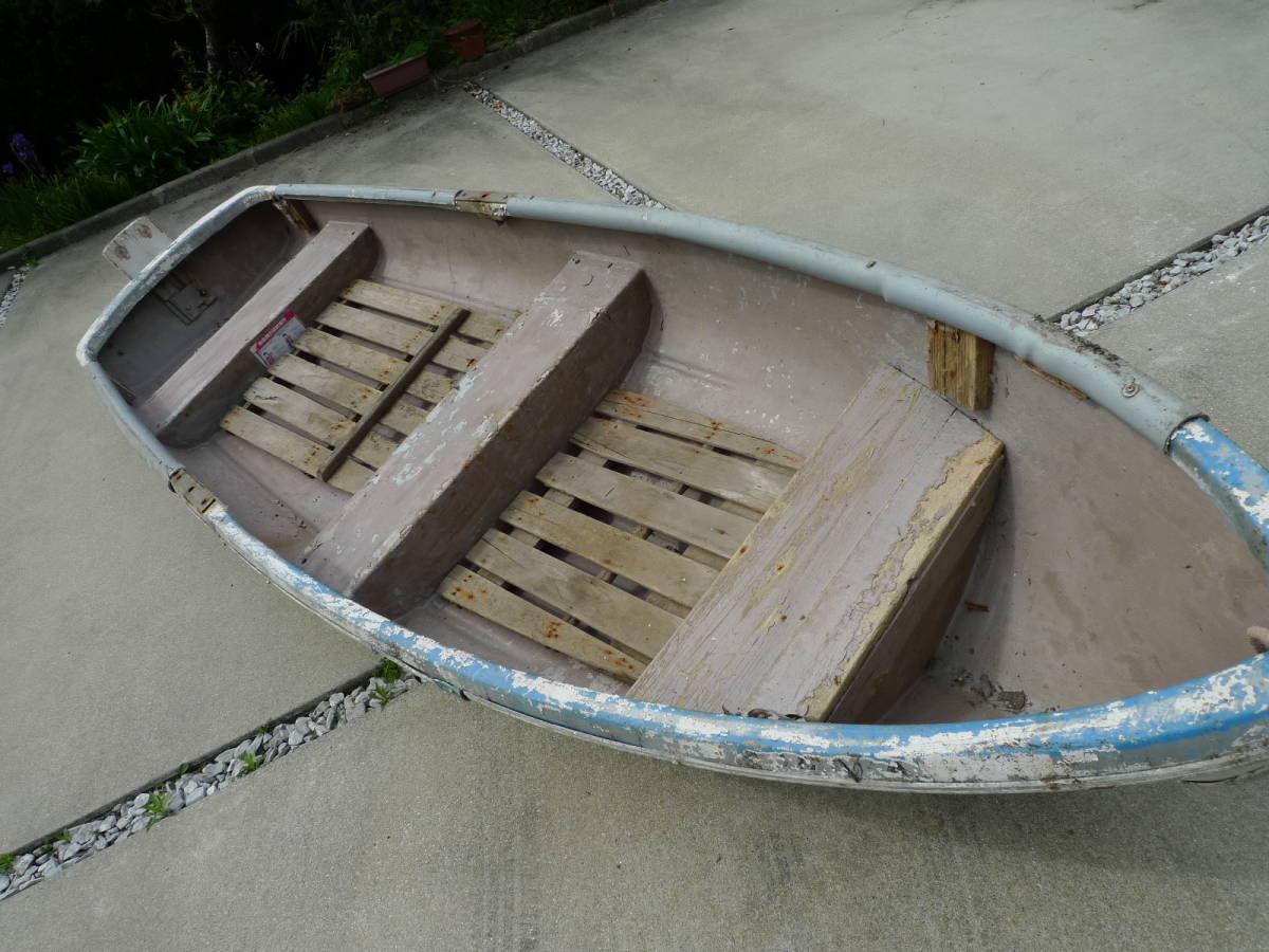 「小型ボート FRP製 2人用 長さ355センチ 幅110センチ 引き取り限定です」の画像3