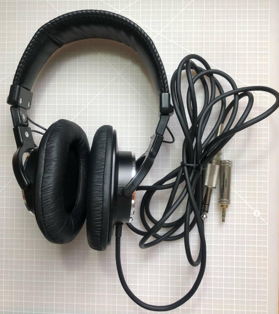 【美品・変換プラグおまけ付】SONY(ソニー)MDR-CD900ST スタジオモニター用 ヘッドホン_画像2