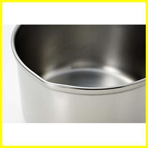 【即決】ステンレス IH対応 デイズキッチン 13cm 日本製 ミルクパン H-5171 パール金属_画像3