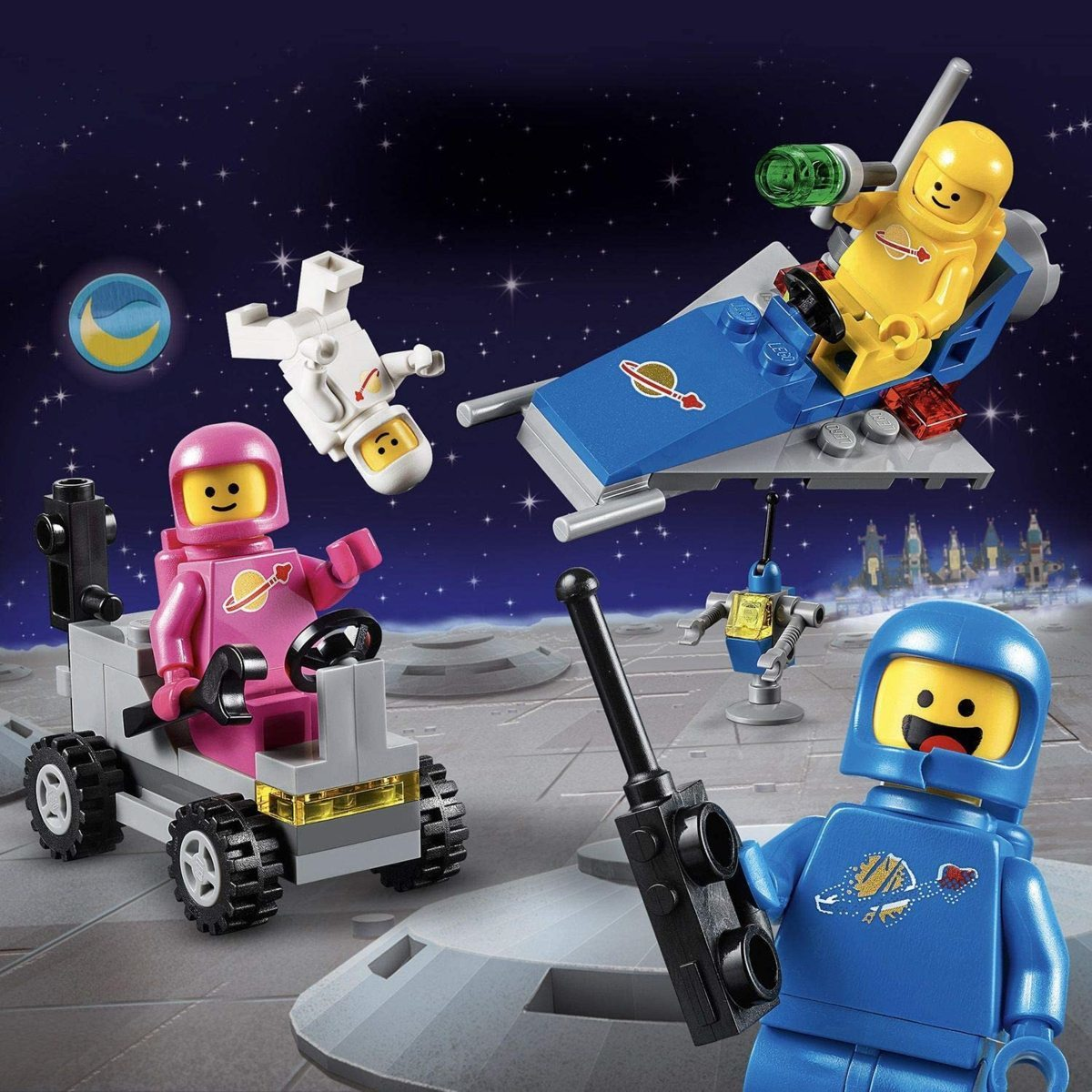 レゴ(LEGO) レゴムービー ベニーの宇宙スクワッド 70841 知育玩具 ブロック おもちゃ 女の子 男の子_画像3