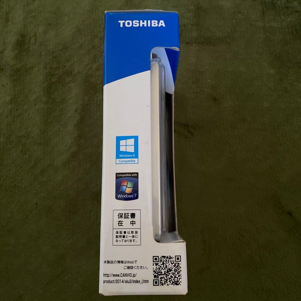 ポータブルハードディスク 1.0TB シルバー