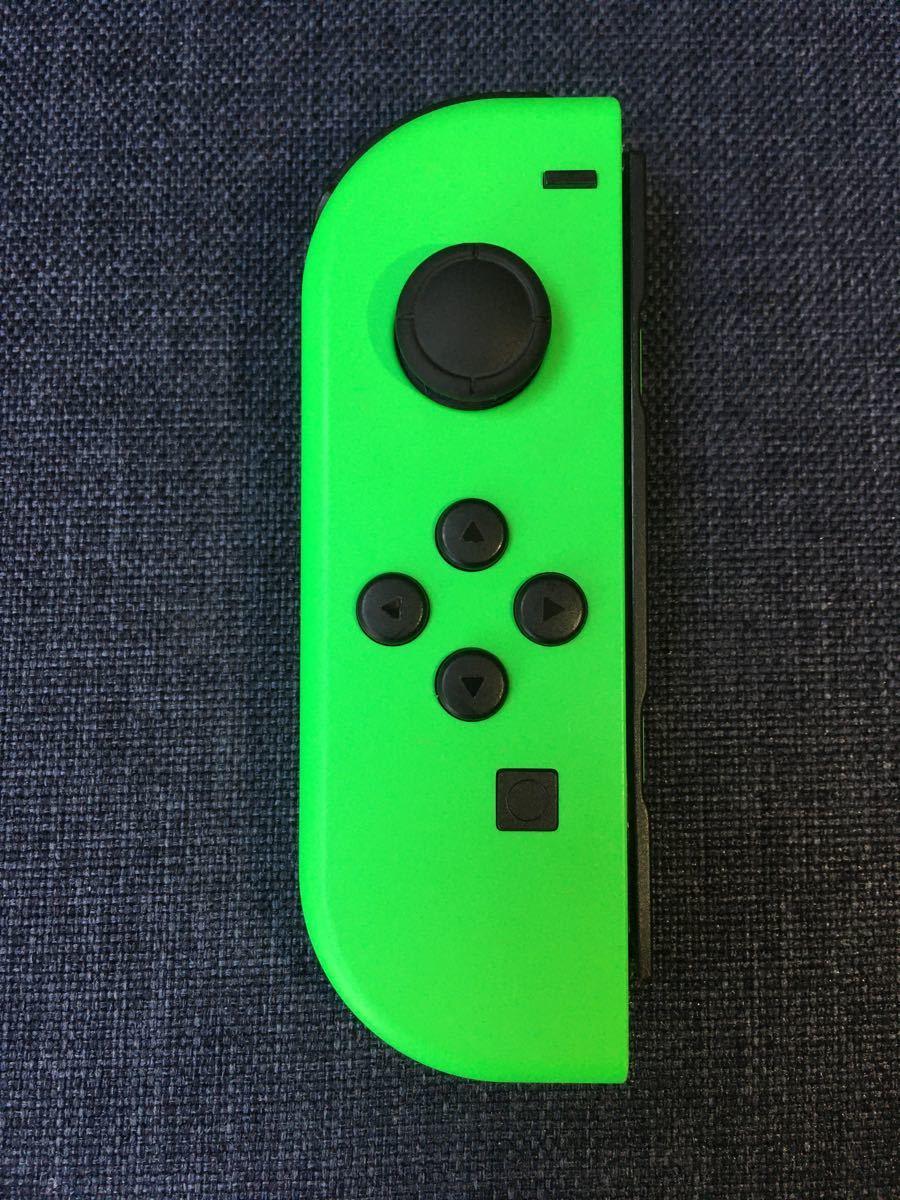 Nintendo Switch ニンテンドースイッチ Joy-Con (L) ジョイコン 左 ネオングリーン ジャンク