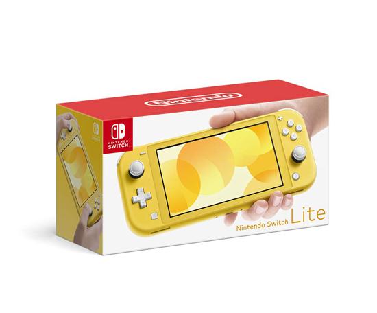 【中古】任天堂 Nintendo Switch Lite(ニンテンドースイッチ ライト) HDH-S-YAZAA イエロー 元箱あり_画像1