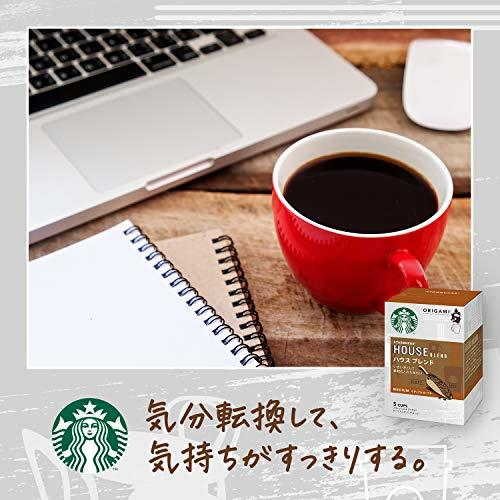 Starbucks(スターバックス) ネスレ スターバックス オリガミ パーソナルドリップコーヒー ハウスブレンド ×2箱_画像3
