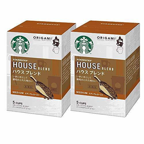 Starbucks(スターバックス) ネスレ スターバックス オリガミ パーソナルドリップコーヒー ハウスブレンド ×2箱_画像1