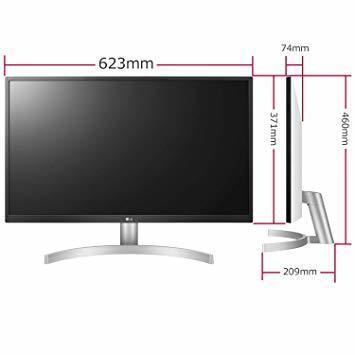 シルバー 【Amazon.co.jp 限定】LG ゲーミング モニター ディスプレイ 27UL500-W 27インチ/4K/HD_画像5