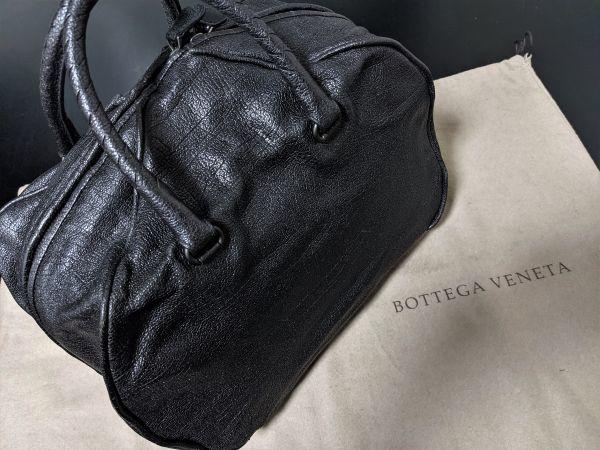 美品【27万】 ボッテガヴェネタ bottega コーティングレザー バッグ コレクションライン