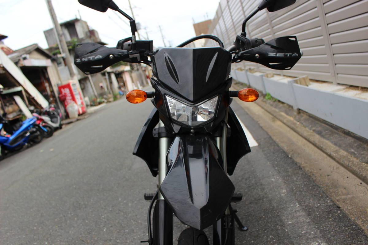 「大阪~整備済み D-トラッカー125 低走行 エンジン好調 即決有り お引き取り、全国陸送、フェリー発送OK!!」の画像3