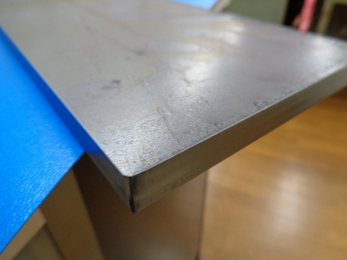 鉄板 厚み12mm 大きさ 約120mmx300mm  重さ3.5kg_画像3