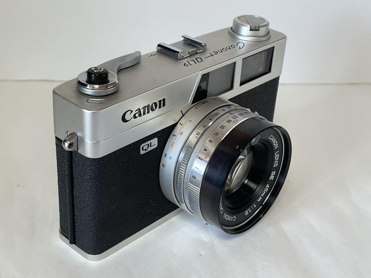 ★外観美観★キヤノン CANON CANONET QL19/SE 45mm F1.9 #2107014_画像3