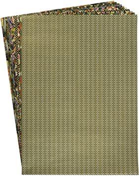 黒色系10枚 【.co.jp 限定】和紙かわ澄 千代紙 友禅和紙 大判 38.5×53cm 10柄各1枚_画像1
