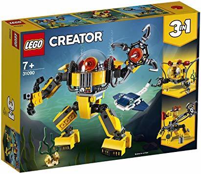 レゴ(LEGO) クリエイター 海底調査ロボット 31090 知育玩具 ブロック おもちゃ 女の子 男の子_画像8