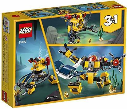 レゴ(LEGO) クリエイター 海底調査ロボット 31090 知育玩具 ブロック おもちゃ 女の子 男の子_画像7