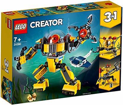 レゴ(LEGO) クリエイター 海底調査ロボット 31090 知育玩具 ブロック おもちゃ 女の子 男の子_画像9