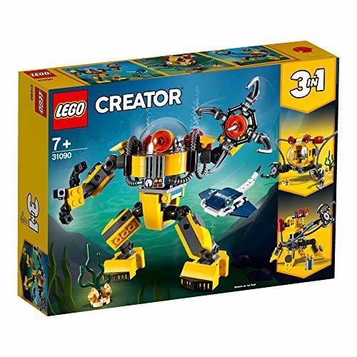レゴ(LEGO) クリエイター 海底調査ロボット 31090 知育玩具 ブロック おもちゃ 女の子 男の子_画像2