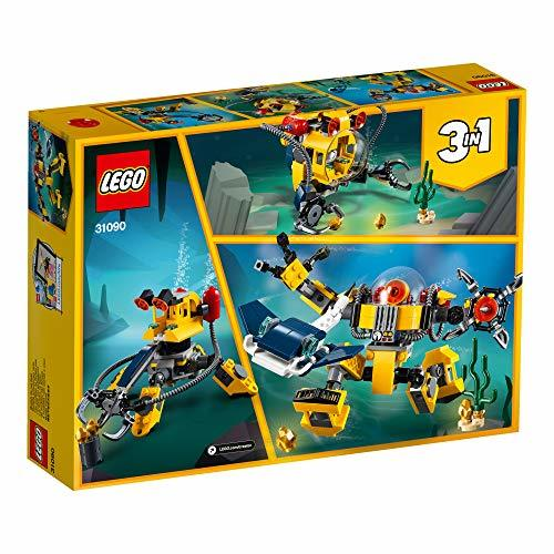 レゴ(LEGO) クリエイター 海底調査ロボット 31090 知育玩具 ブロック おもちゃ 女の子 男の子_画像3