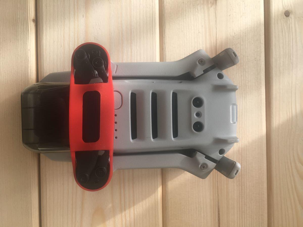 DJI MAVIC MINI MINI2用シリコンプロペラホルダー レッド