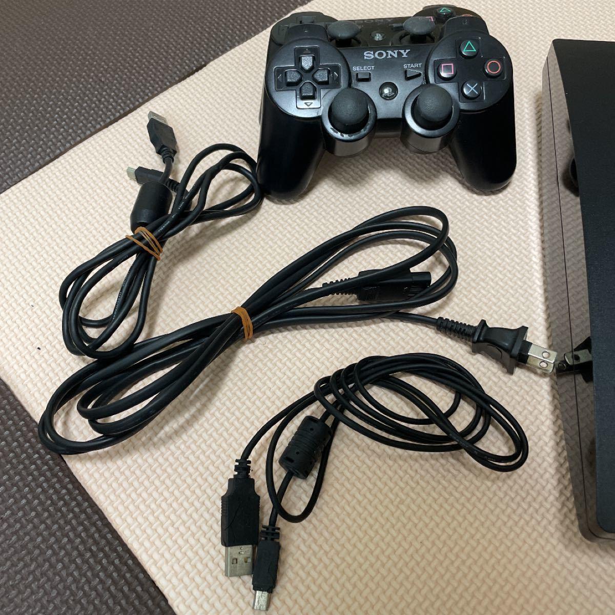 【最終値下げ】本体 PlayStation3 コントローラー2 各種ケーブル有