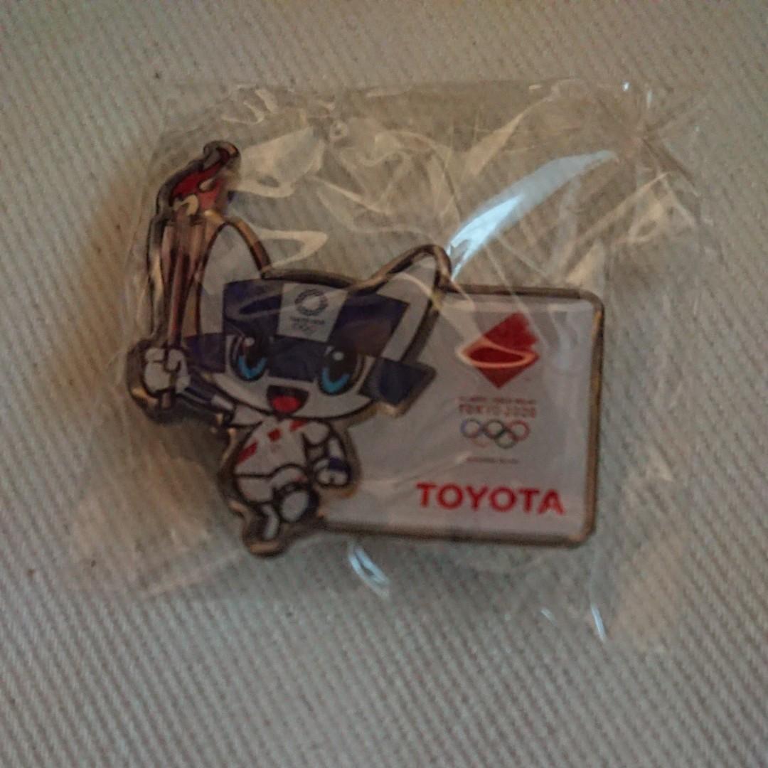 東京2020オリンピック聖火リレートヨタ応援キッズ賞受賞記念品ピンズピンバッジ