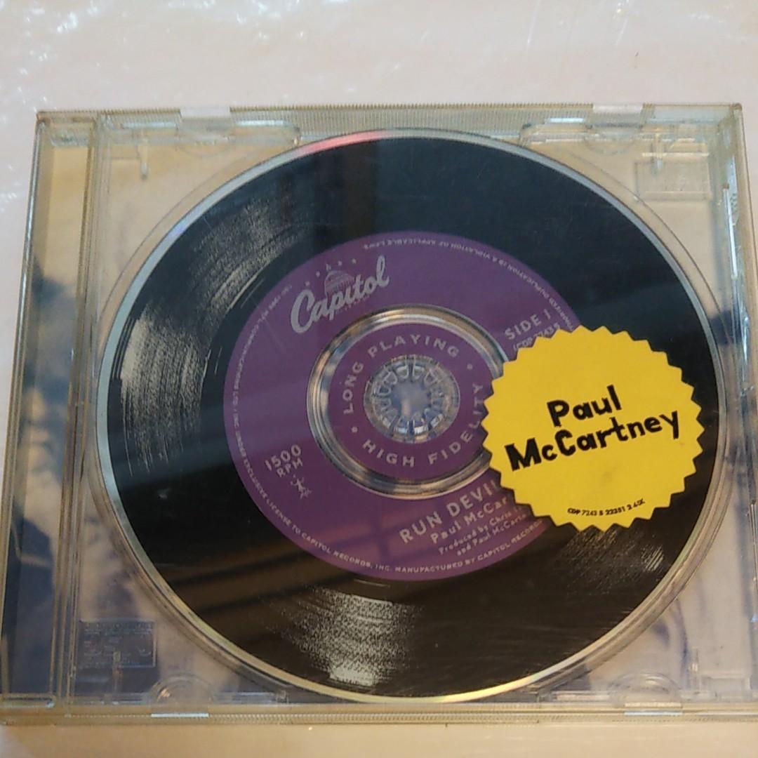 送料込!ポール・マッカートニー/Run Devil Run(Paul McCartney、ザ・ビートルズ)