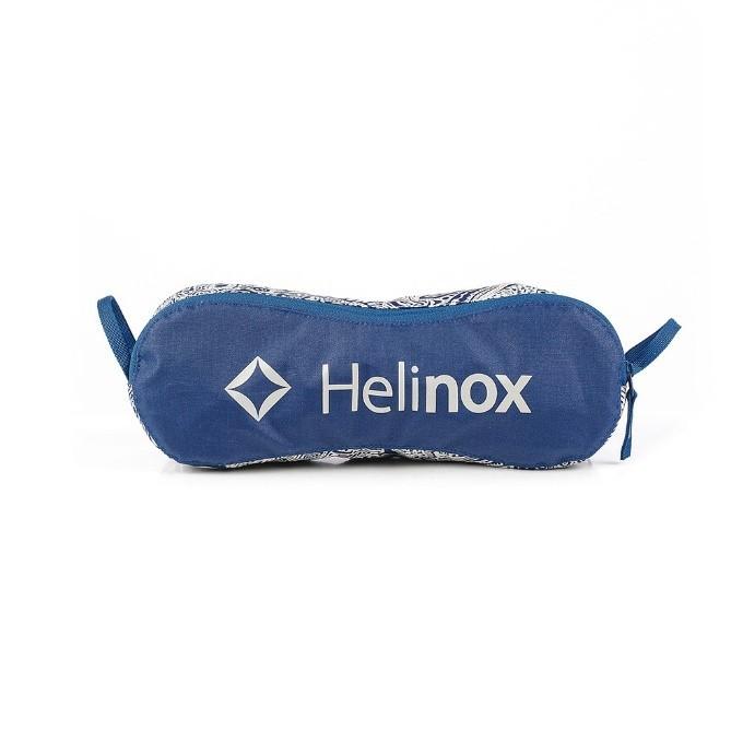 ヘリノックス Helinox アウトドアチェア  チェアワン  ペイズリー カラー BL ブルー 1822260