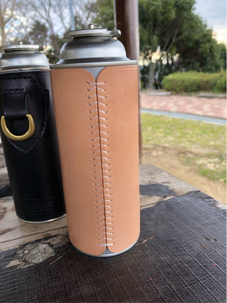 CB缶本革カバー2019モデル ナチュラルカラー